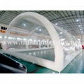 Inflatable Clear Cube Tent , Transparent Inflatable Tent 3