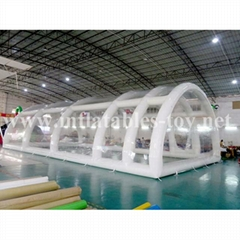 Inflatable Clear Cube Tent , Transparent Inflatable Tent