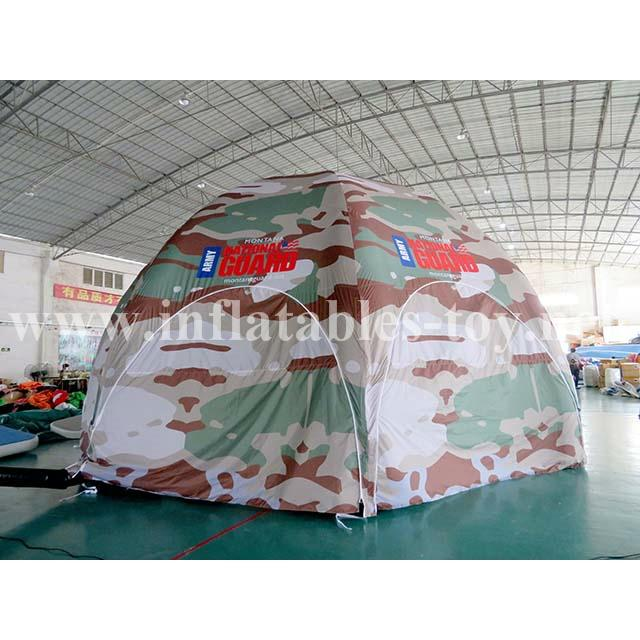 Inflatable Military Dome Tent, Inflatable Igloo Dome Tent 1
