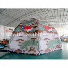Inflatable Military Dome Tent, Inflatable Igloo Dome Tent