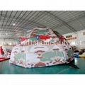 Inflatable Military Dome Tent, Inflatable Igloo Dome Tent 4