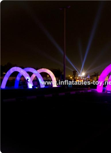 Lighting Arch for Race Events