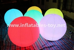 Inflatable Lighting Spheres