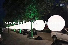 Lighting Inflatable Pole Balloon Decorations