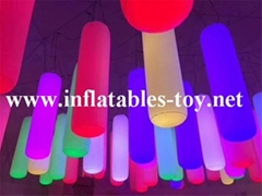 Inflatable Lighting Tubes Park Decorations Pillars