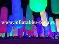 Inflatable Lighting Tubes Park Decorations Pillars 4