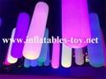 Inflatable Lighting Tubes Park Decorations Pillars 5