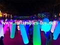 Inflatable Lighting Tubes Park Decorations Pillars 6