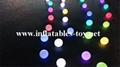 Water Floating LED Lighting Spheres Beach Balloon