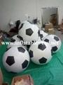 Football Shape LED Decoration Spheres Lighting Balloon 3