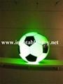 Football Shape LED Decoration Spheres Lighting Balloon 7