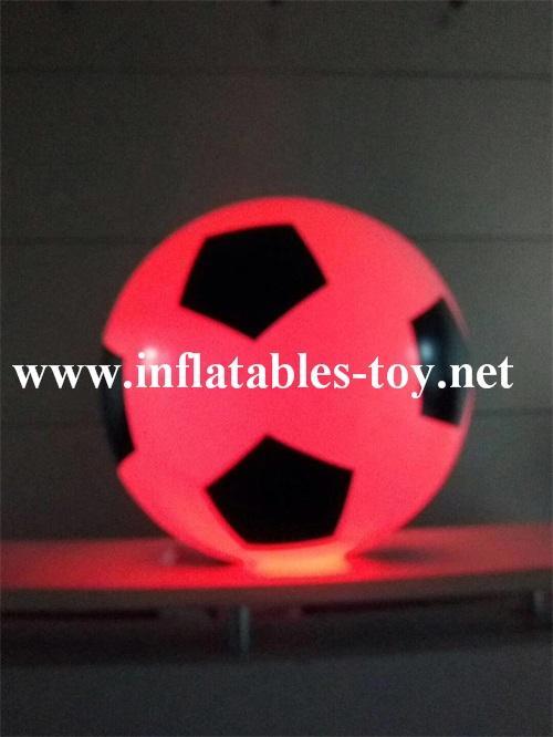 Football Shape LED Decoration Spheres Lighting Balloon 8