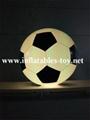 Football Shape LED Decoration Spheres Lighting Balloon 9