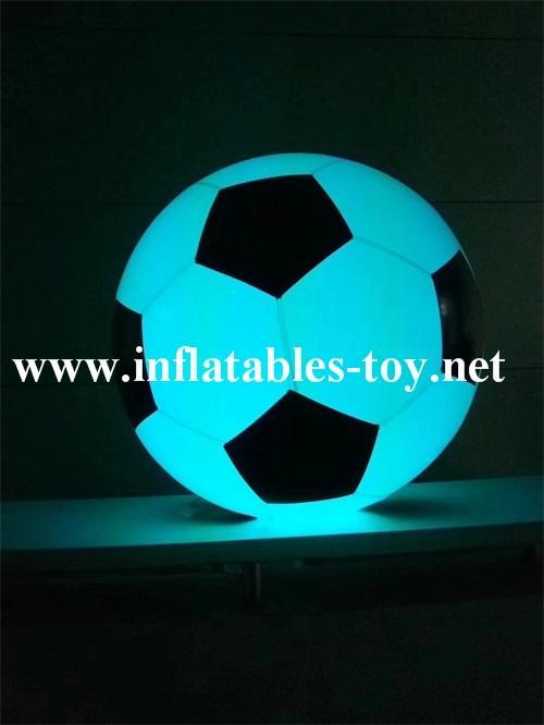 Football Shape LED Decoration Spheres Lighting Balloon 10