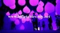 LED Lighting Decoration Inflatable Spheres Lighting Balloon 2