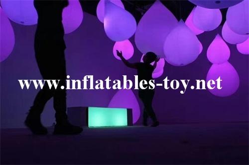 LED Lighting Decoration Inflatable Spheres Lighting Balloon 3