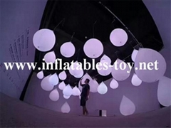 LED Lighting Decoration Inflatable Spheres Lighting Balloon