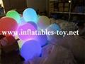 LED Lighting Decoration Inflatable Spheres Lighting Balloon 4