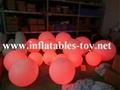 LED Lighting Decoration Inflatable Spheres Lighting Balloon 5