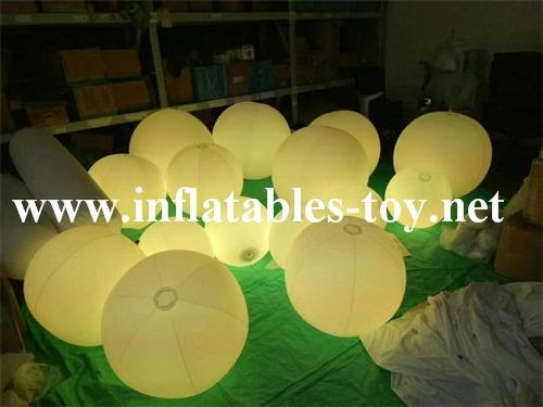 LED Lighting Decoration Inflatable Spheres Lighting Balloon 6