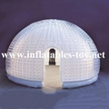 Transparent PVC Inflatable Dome Tent for