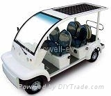 solar electric passenger cars