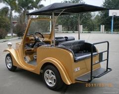 4-seat electric retro passenger carts