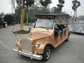 8-seat electric retro passenger carts