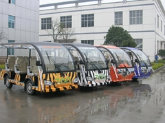 Electric Bus for Zoo