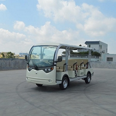 11-seat Electric sightseeing carts