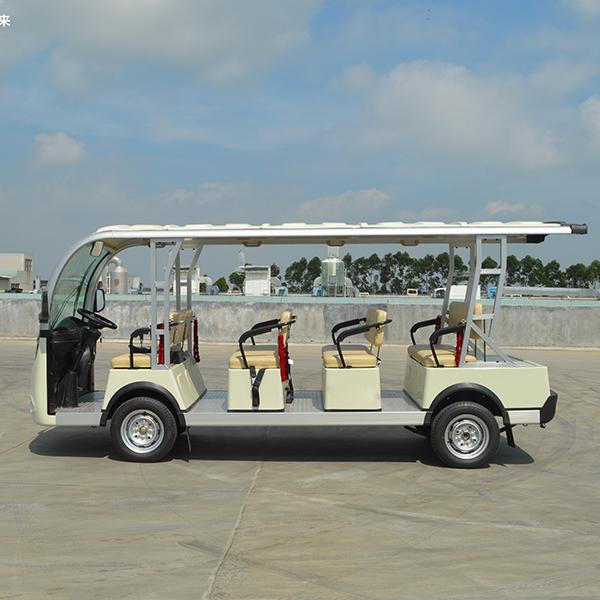 11-seat Electric sightseeing carts 2