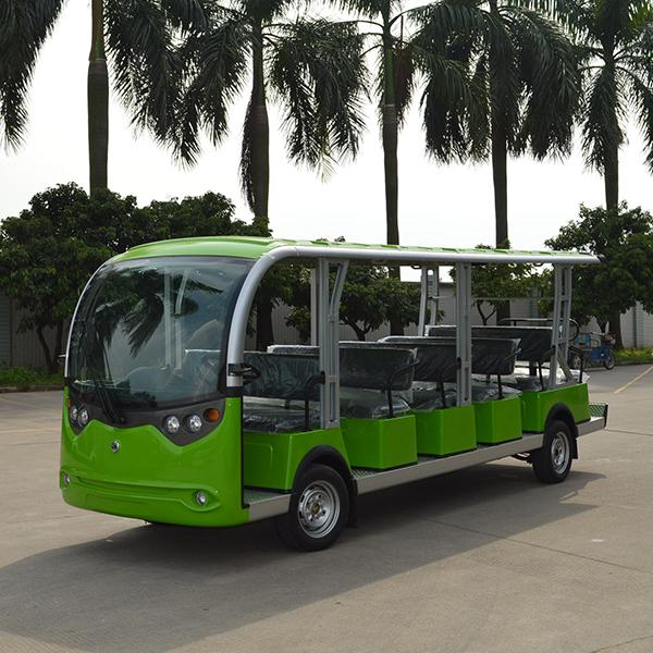 19-seat electric sightseeing bus 1