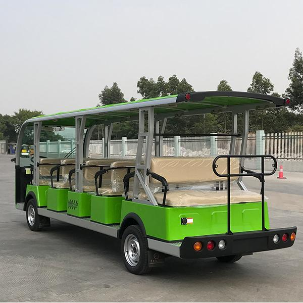 19-seat electric sightseeing bus 3