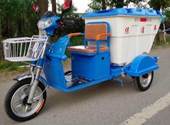 Electric Clean Tricycle