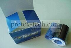 Original Zebra YMCKO PVC card ribbon 800015-440