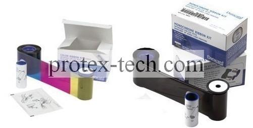 Original Datacard YMCKT 500 prints card printer ribbon 552854-504 4
