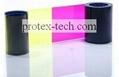 Original Datacard YMCKT 500 prints card printer ribbon 552854-504 3