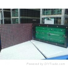 p10 red outdoor led display panel