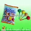 yogrut lollipop with soft chewy candy