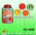 Flat Round Lollipop