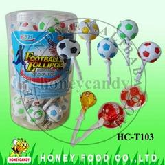 足球棒棒糖