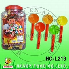 Mixed Fruit Whistle Lollipop