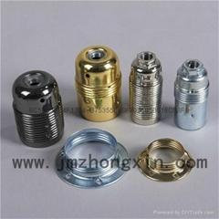 眾鑫金屬燈頭燈座E14/E27-HM/LM