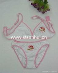 Supply girls bra set