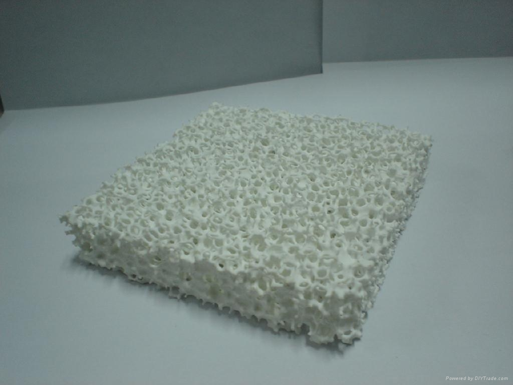 Silicon Carbide Ceramic Foam Filter Cff 01 Ningxin