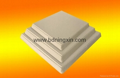 Alumina ceramic foam filter for molten aluminium filtration
