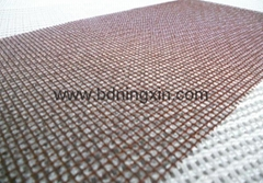 High silica fiberglass mesh filter for casting filtration