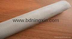 Fiberglass cloth filter for aluminium filtration