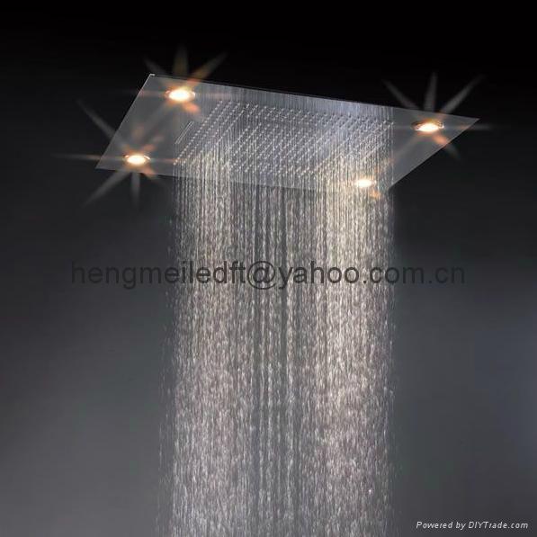 embeded ceiling led shower head 2