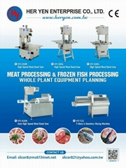 HY-45 Tuna Cleaning and Deboning Machine